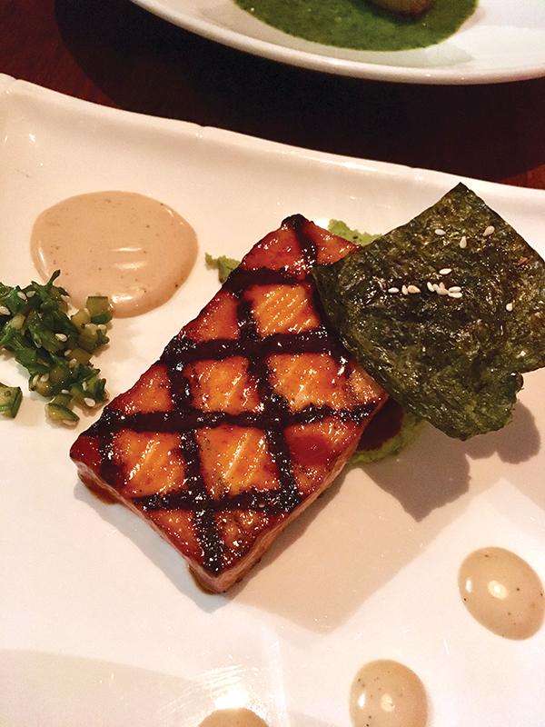 Ssamjang Glazed Tofu