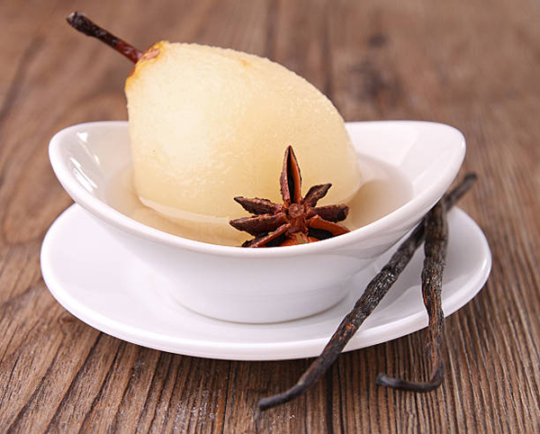 Jasmin Poached Pears