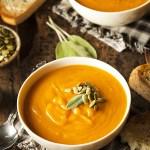 Creamy Creamless Carrot Ginger Soup