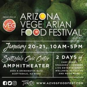 AZ Vegetarian Food Festival @ Scottsdale Civic Center Amphitheater | Scottsdale | Arizona | United States