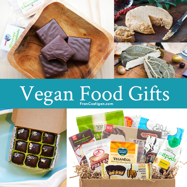 2017 Vegan Holiday Gift Guide - Food Gifts