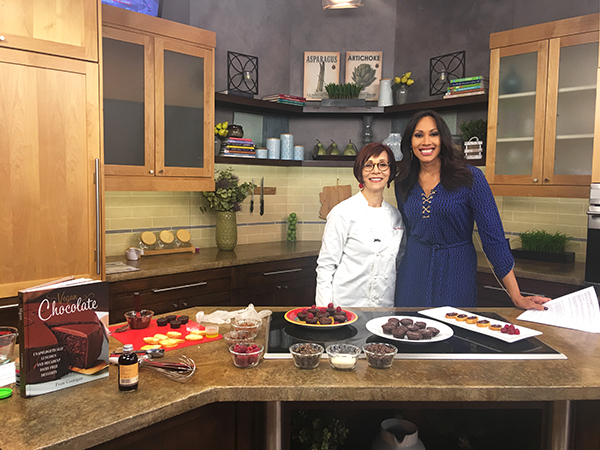 Fran with Good Morning Arizona anchor Lina de Florias
