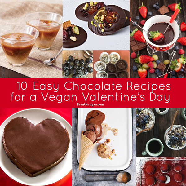 Fran Costigan's 10 Easy Chocolate Recipes for a Vegan Valentine's Day