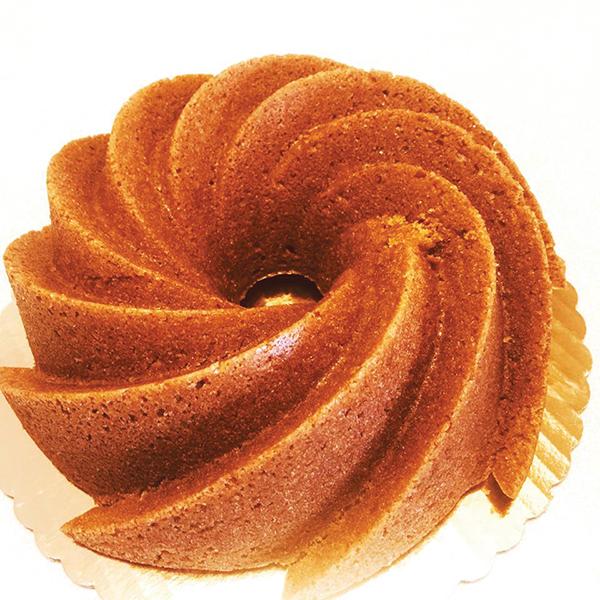Big Orange Bundt Cake