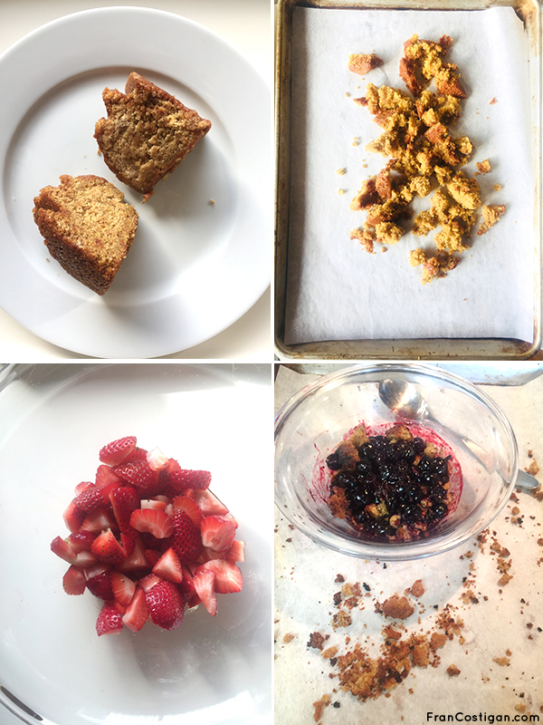 Fran Costigan's Vegan Strawberry Brown Betty