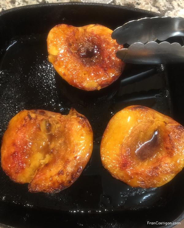 Roasting Peaches