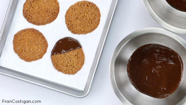 Gluten-Free Lace Cookies from the Rouxbe Essential Vegan Desserts Course