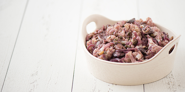 Miyoko Schinner's Sicilian-style Cauliflower Braised in Red Wine (vegan and gluten-free)