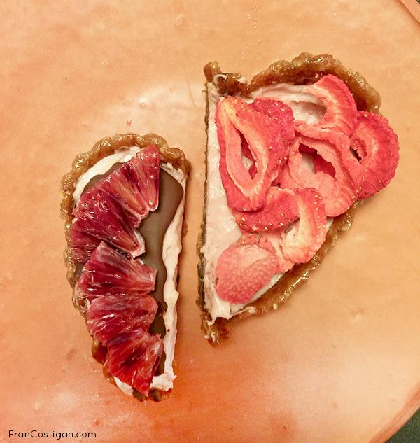 Broken Heart or dessert for two individuals