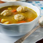 Don't wait for Passover to enjoy this Vegan Matzo Ball Soup from Nava Atlas! It's one of those comforting, traditional dishes that can —and should — be enjoyed any time, not just during the holiday.