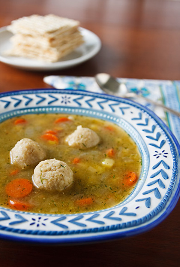 Vegan Matzo Ball Soup from Nava Atlas