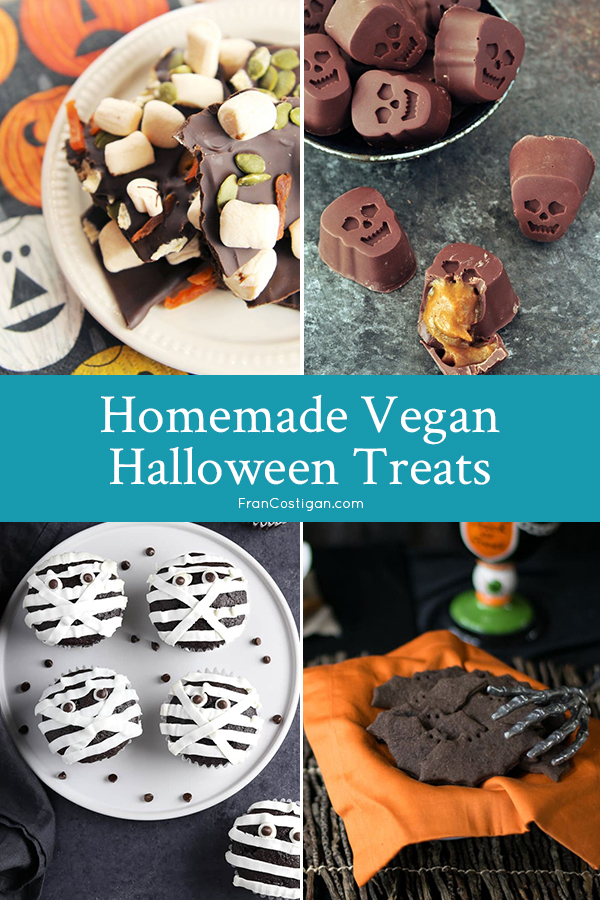 Homemade Vegan Halloween Treats