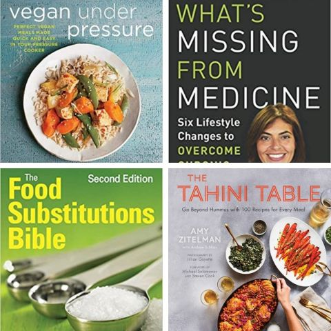 Vegan holiday gift guide book selection