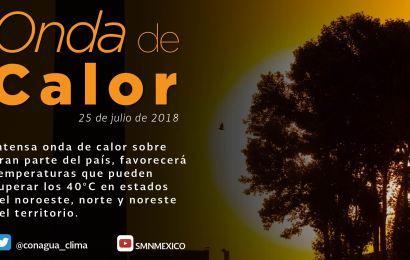 Onda de Calor Traera Temperaturas de Hasta 42°c en Tamaulipas