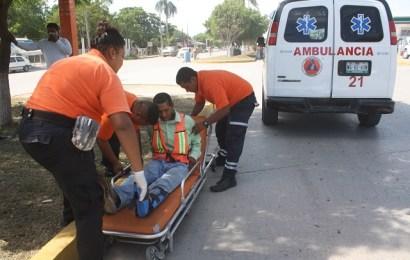 Trabajador de Empleo Temporal se Lesiona en Caída