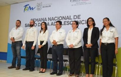 Activa Gobierno de Tamaulipas Semana de Salud de la Adolescencia