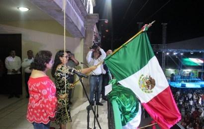 Conmemora Alcaldes de Xicoténcatl el CCVIII Aniversario del Grito de Independencia