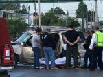 Mujer Muere Prensada al Chocar en Matamoros