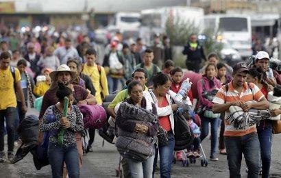 Segunda Caravana Migrante Arriba a la Ciudad de México