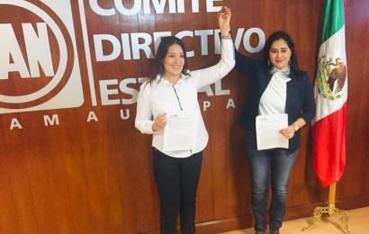 Sonia Mayorga se Registra como Precandidata a a Diputación e Inés Duarte como su Suplente