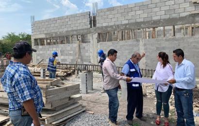 Noemy González Supervisa Avance de Importantes Obras