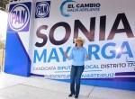 Inicia Sonia Mayorga Campaña en Busca de la Diputación Local del XVII Distrito