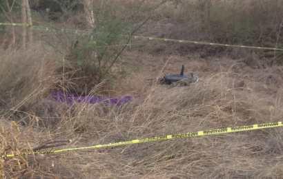 Encuentran Muerto a Motociclista en los Límites de Ocampo y Antiguo Morelos