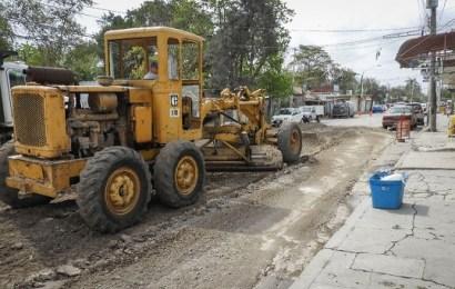 Rehabilitan Tramo en Mal Estado de la Calle «Cañera»