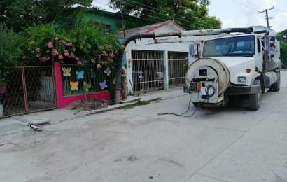 Soluciona Gobierno de El Mante Añejo Problema de Drenaje en la Colonia Núñez