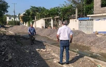 Alcalde Verifica Avance de Obras en colonias del Poniente