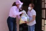 Llevan Apoyos a Familias Vulnerables de Xicoténcatl