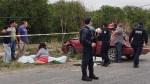 Muere Aplastado por su Propio Auto en Choque y Volcadura