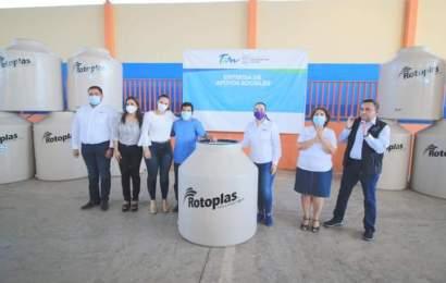 Gobierno de Xicoténcatl, SE BIEN y Rotoplas Llevan Apoyo a Familias Xicotenquenses