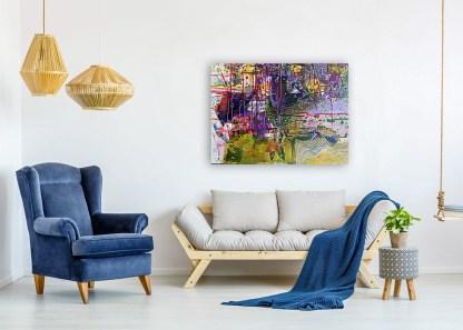 Peinture contemporaine Luciole