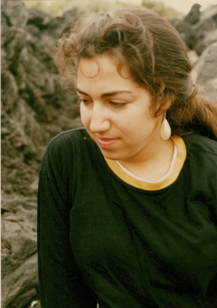Another younger version of moi...Miyakajima Island 1990, photo taken by Rick