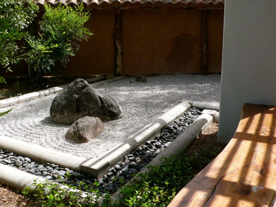 The Zen Garden at the Botanical Gardens