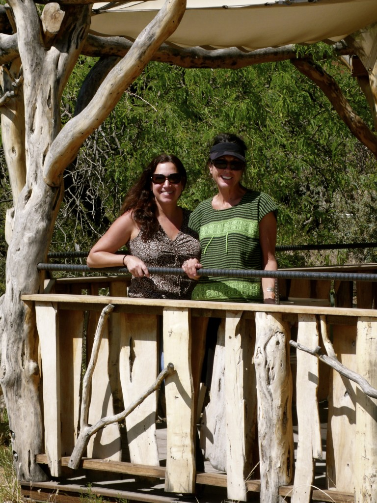 Fran and Jane at the Desert Museum