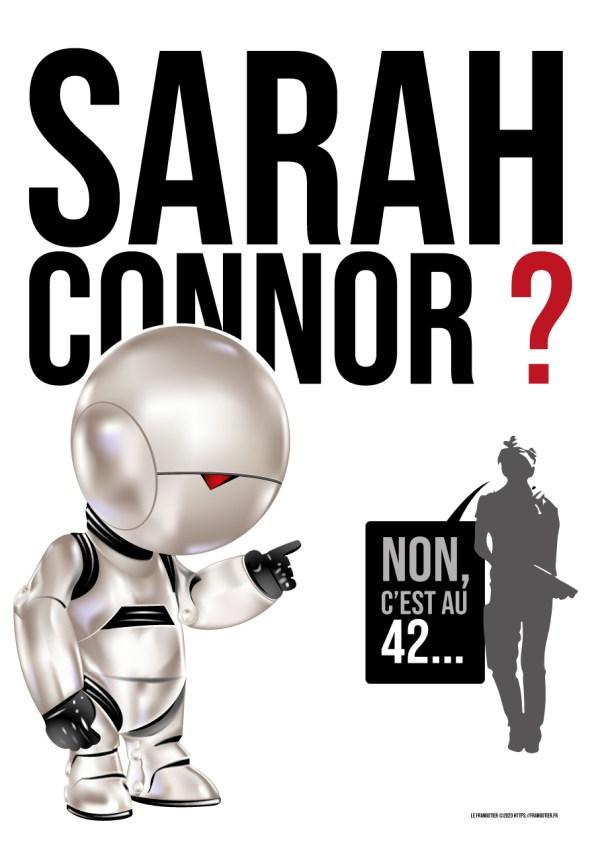 Marvin (H2G2) rencontre Sarah Connor (Terminator)