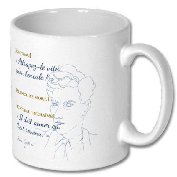 "Mug Cocteau, ""un ange passe"""