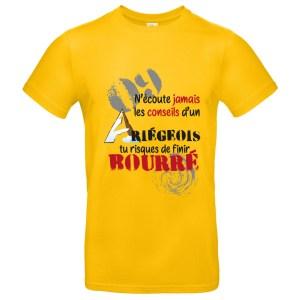 T-shirt «Conseils d'un ariégeois»