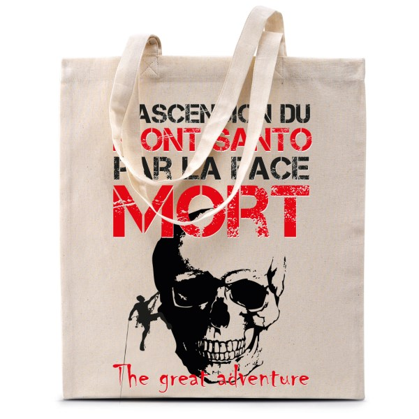 "Tote bag ""Ascension du Mont Santo"""