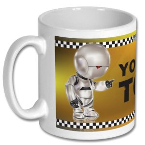 Mug Marvin Taxi Driver