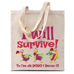 Sac coton «Dodos – I will Survive»