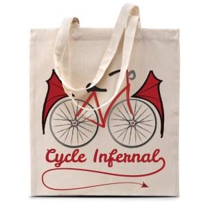 Tote bag «Cycle Infernal»