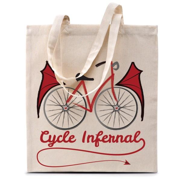 """Tote bag """"Cycle Infernal"""""""