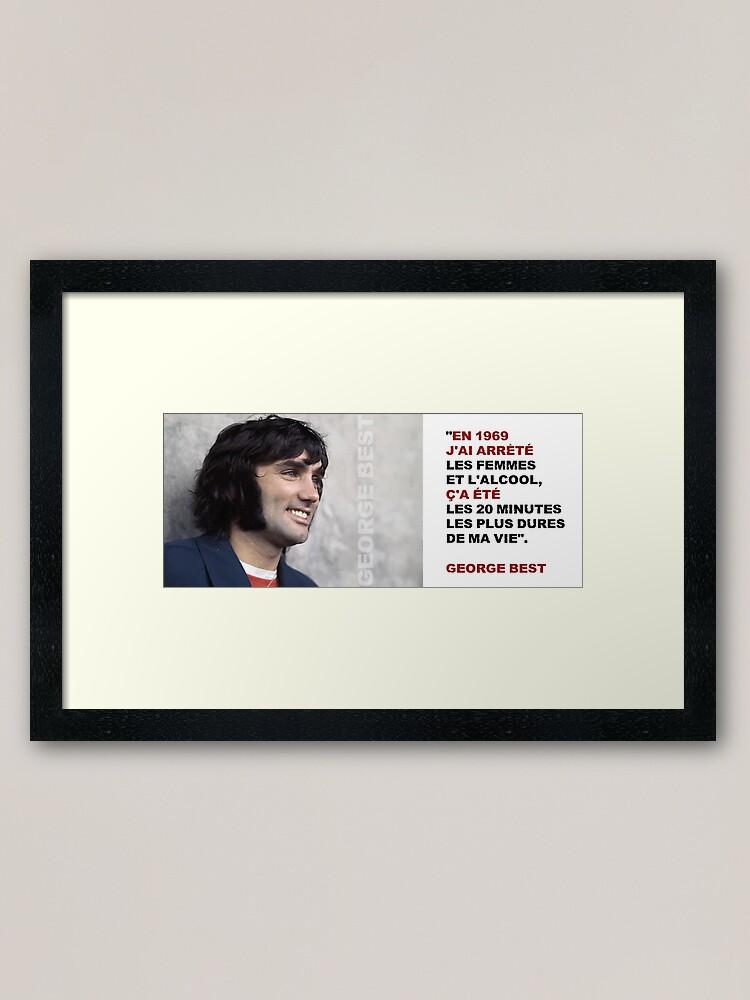 Read more about the article Impression encadrée George Best «En 1969…»