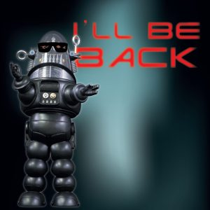 Magnet Robby «I'll be back»