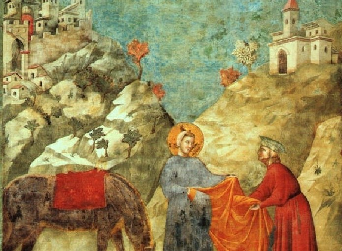 Giotto, Poklon ogrtača