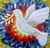 peace dove mosaic