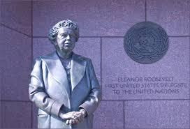 Eleanor Roosevelt UN monument